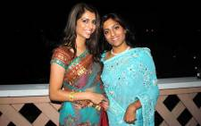 The late Anni Hindocha Dewani and her cousin, Sneha Mashru. Picture: Sneha Mashru's Facebook page