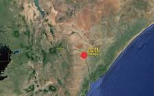FILE: The location of Garissa University College in Kenya. Picture: Google Earth