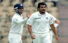 FILE: Indian cricketer Zaheer Khan (C). Picture: AFP.