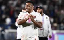 FILE: England's prop Mako Vunipola celebrates after winning the Japan 2019 Rugby World Cup semi-final match between England and New Zealand at the International Stadium Yokohama in Yokohama on 26 October 2019. Picture: AFP