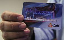 E-Toll account card