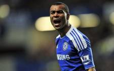 England and Chelsea fullback Ashley Cole. Picture: AFP.