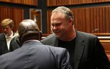 Czech national Radovan Krejcir along with five others appeared in the Palm Ridge Magistrate Court on Tuesday, where they are facing drugs dealing, kidnapping and attempted murder charges. Picture: Sebabatso Mosamo/EWN.