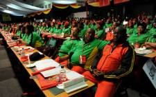Cosatu delegates attend the trade union federation's 11th national congress at Gallagher Estate in Midrand on Monday, 17 September 2012. Picture: Werner Beukes/SAPA