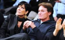 FILE: Kris and Bruce Jenner attend a game between the Dallas Mavericks and the Los Angeles Lakers at Staples Center on 16 January, 2012. Picture: AFP.