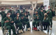 Some of South Africa Paralympic athletes depart for Tokyo, Japan on 17 August 2021. Picture: @TeamSA2020/Twitter