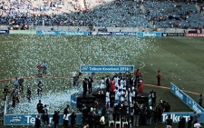 SuperSport United were crowned 2014 Telkom Knockout Champions. Picture: Marc Lewis/EWN