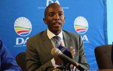 FILE: The Democratic Alliance leader Mmusi Maimane. Picture: Reinart Toerien/EWN.