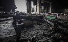 Asif Raza, business owner in Umkomaas, KwaZulu-Natal lost his supermarket to the week of violence and looting. Picture: Abigail Javier/Eyewitness News