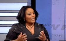 FILE: SABC news anchor Desiree Chauke. Picture: YouTube screengrab/SABC.