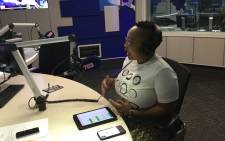 Lumka Oliphant, spokesperson for the Department of Social Development. Picture: Radio 702.