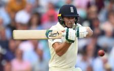 FILE: England's Jos Buttler bats during play on the first day of the fifth Ashes cricket Test match between England and Australia at The Oval in London on 12 September 2019. Picture: AFP
