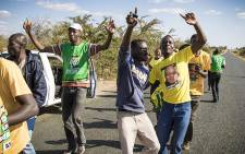 FILE: ANC supporters. Picture: Thomas Holder/EWN.