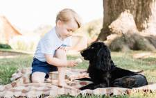 Prince George turned three on 22 July 2016. Picture: Kensington Palace.