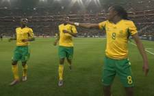 Siphiwe Tshabalala made an undeniable mark as his opening goal against Mexico on the opening game that kicked off a month of entertaining football action in the 2010 World Cup. Picture: YouTube screengrab.
