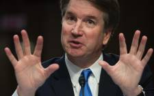 In this file photo taken on 5 September 2018, US Supreme Court nominee Brett Kavanaugh speaks on the second day of his confirmation hearing in front of the US Senate in Washington DC. Picture: AFP