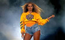 FILE: Beyonce Knowles performs onstage during 2018 Coachella Valley Music And Arts Festival Weekend 1 at the Empire Polo Field on 14 April 2018 in Indio, California. Picture: AFP
