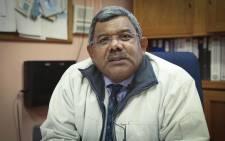 Phoenix High School principal Shafiek Abrahams. Picture: Cindy Archillies/EWN