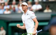 American Sam Querrey. Picture: @Wimbledon.
