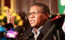 Sports Minister Fikile Mbalula. Picture: EWN.