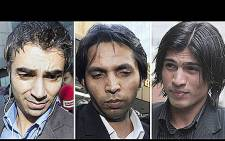 Cricketers Salman Butt, Mohammad Asif and Mohammad Amir banned for spot-fixing. Picture: AFP