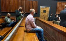 Former VBS Bank chief financial officer Phillip Truter in the Palm Ridge Specialised Commercial Crimes Court on 7 October 2020. Picture: NPA.