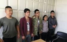 Five Chinese nationals were arrested in Kenya after being found in possession of security equipment on 5 October 2018. Picture: @ImmigrationDept/Twitter
