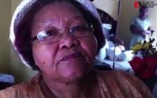 The mother of a man who was killed in an apparent gang-related shooting in Reiger Park on Wednesday speaks to EWN's Mandy Weiner.