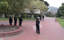 Private security guards. Picture: Bertram Malgas/EWN