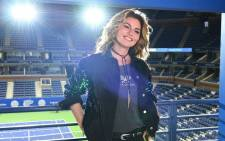 Shania Twain celebrated her birthday by performing at the US Open. Picture: Twitter/@ShaniaTwain
