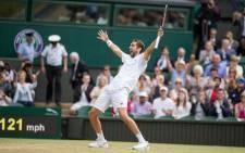 Marin Cilic. Picture: @Wimbledon