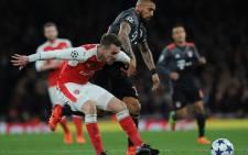 Bayern Munich vs Arsenal on 8 March 2017. Picture: @Arsenal.