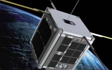 A graphic of the Cubesat in space. Picture: Cape Peninsula University of Technology.