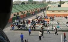 Illegal immigrants waiting to be deported at the Lindela Repatriation Centre, west of Johannesburg. Picture: Anthony Kaminju/IRIN