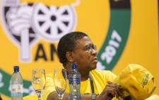ANC elections head Fikile Mbalula at the 54th national conference on 18 December 2017. Picture: Sethembiso Zulu/EWN.
