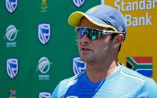 FILE: South Africa's cricket team head coach Mark Boucher. Picture: AFP.