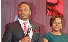 Shepherd Bushiri and his wife Mary. Picture: facebook.com/shepherdbushiriministries
