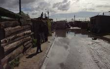 Cape Town rains have led to flooding in Kosovo informal settlement. Picture: Aletta Gardner/EWN