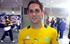 Bafana Bafana midfielder Dean Furman. Picture: @IamLexSA via Twitter