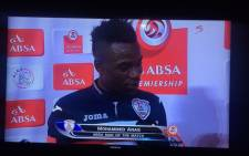 Free State Stars striker, Mohammed Anas. Picture: Screengrab