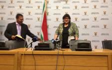 Minister of Public Enterprises Lynne Brown. Picture: Xolani Koyana/EWN