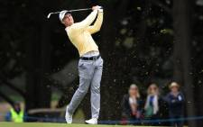Bubba Watson tied with Jordan Spieth for the lead at the end of a third round of the Masters.