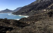 FILE: Chapman's Peak Drive seen on 9 March 2015 after a fire that lasted nearly a week swept across the mountains of the Cape Peninsula. Picture: Aletta Gardner/EWN