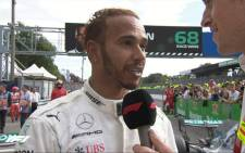 Lewis Hamilton. Picture: @F1/Twitter