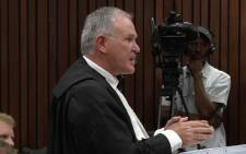 Advocate Barry Roux will continue cross-examining witness Michelle Burger in day two of the trial. Picture: POOL.