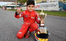 6-year-old Rashid Al Dhaheri is a racing prodigy from the United Arab Emirates. Rashid Al Dhaheri Facebook page.