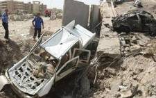 FILE IMAGE: Bloodshed remains below the levels seen in 2006 and 2007 when sectarian Shi'ite-Sunni killings reached their peak, but last year was Iraq's deadliest since violence began to ease in 2008.