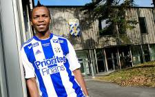 South African midfielder May Mahlangu. Picture: May Mahlangu Facebook fan page