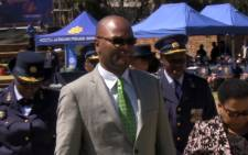 Police Minister Nathi Mthethwa. Picture: Reinart Toerien/EWN.