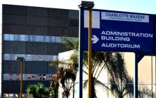 FILE: The Charlotte Maxeke Academic Hospital in Johannesburg. Picture: EWN